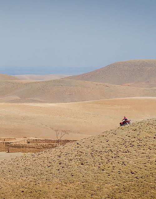 Désert d'Agafay - Marrakech - Maroc #dunesdesert