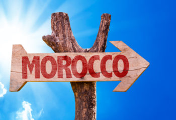 MOROCCO SIGN WOOD
